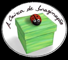logo do blog a caixa de imaginação