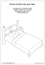 Carlota desenho para colorir sentimentos medo dormir coragem