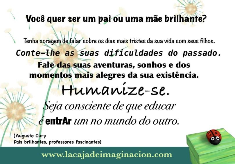 frases augusto cury portugues pais brilhantes maestros fascinantes