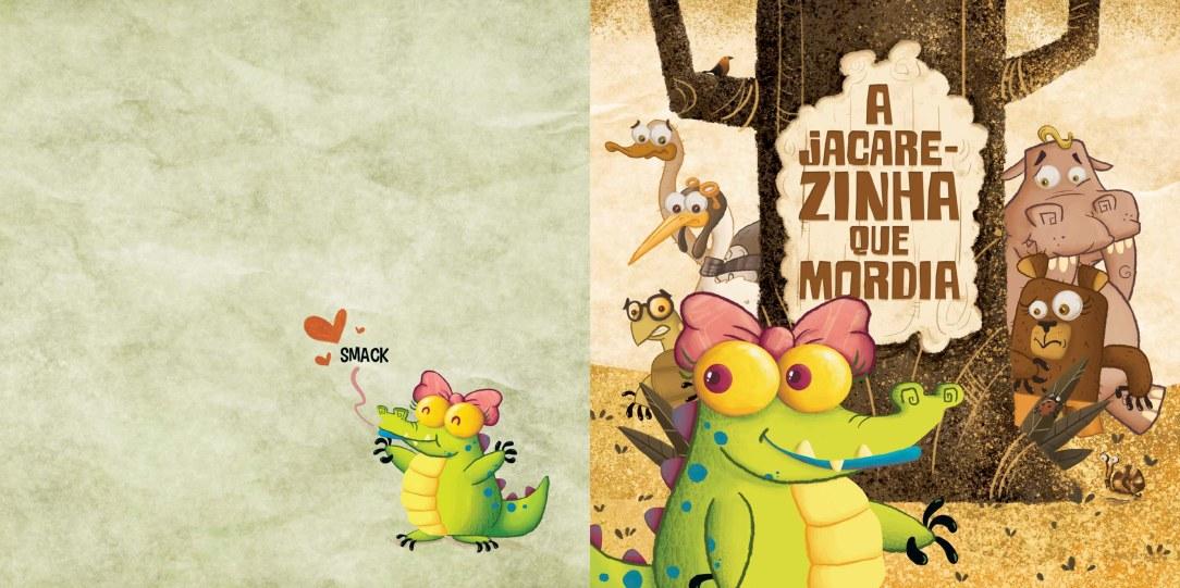1 A JACAREZINHA QUE MORDIA 2 capa