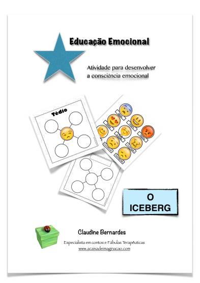 1 Atividade O Iceberg - educação Emocional - Claudine Bernardes