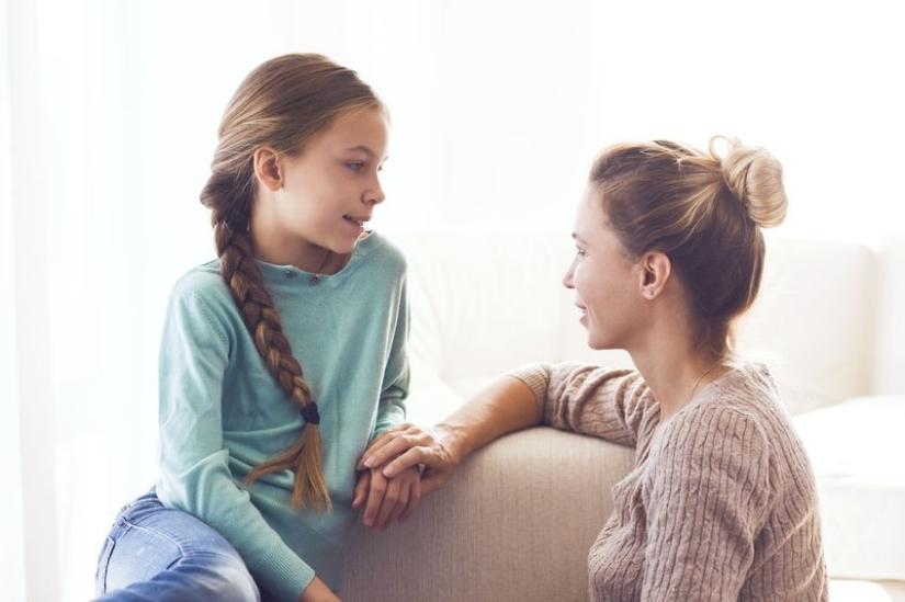 comunicação com filhos criança pais