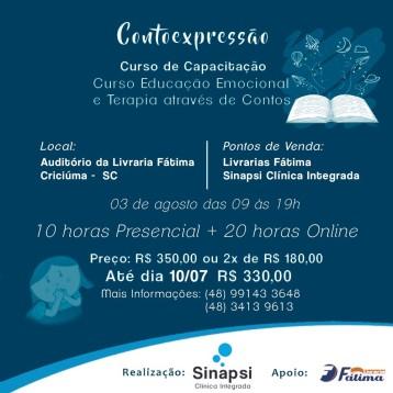 Curso de Contoexpressão Criciuma 2