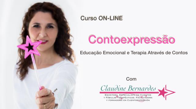 Curso Online de Contoexpressão Claudine Bernardes