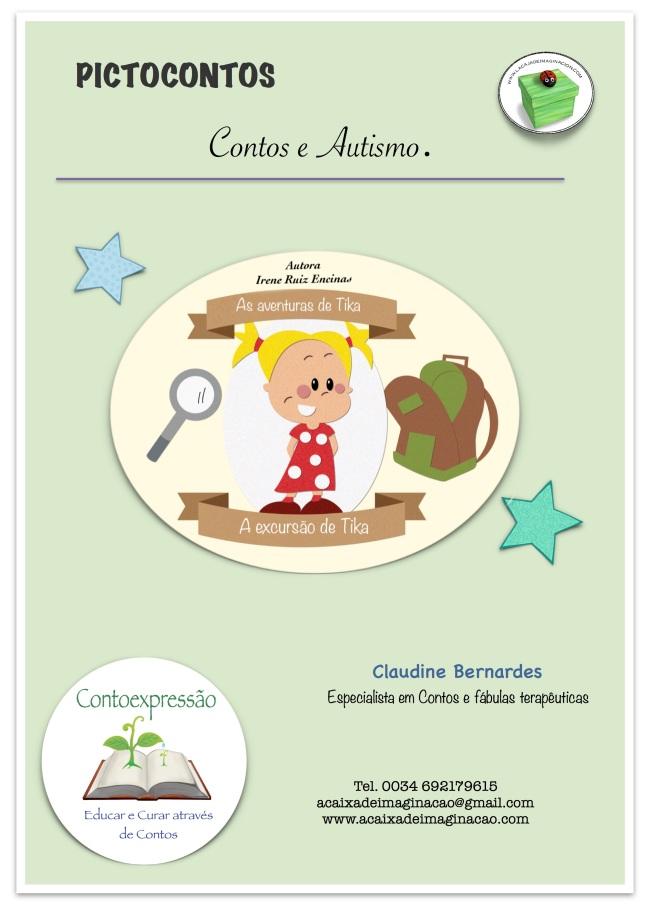 capa ATIVIDADE PICTOCONTOS - Autismo - A excursão de Tika