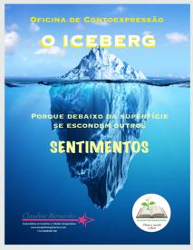 3 Cartaz Oficina O ICEBERG 1 Contoexpressão Claudine Bernardes