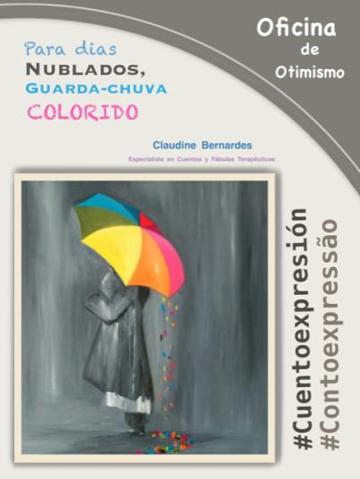 4 Cartaz Oficina de Otimismo 1 Contoexpressão Claudine Bernardes