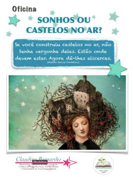 7 Cartaz Oficina Sonhos Claudine Bernardes