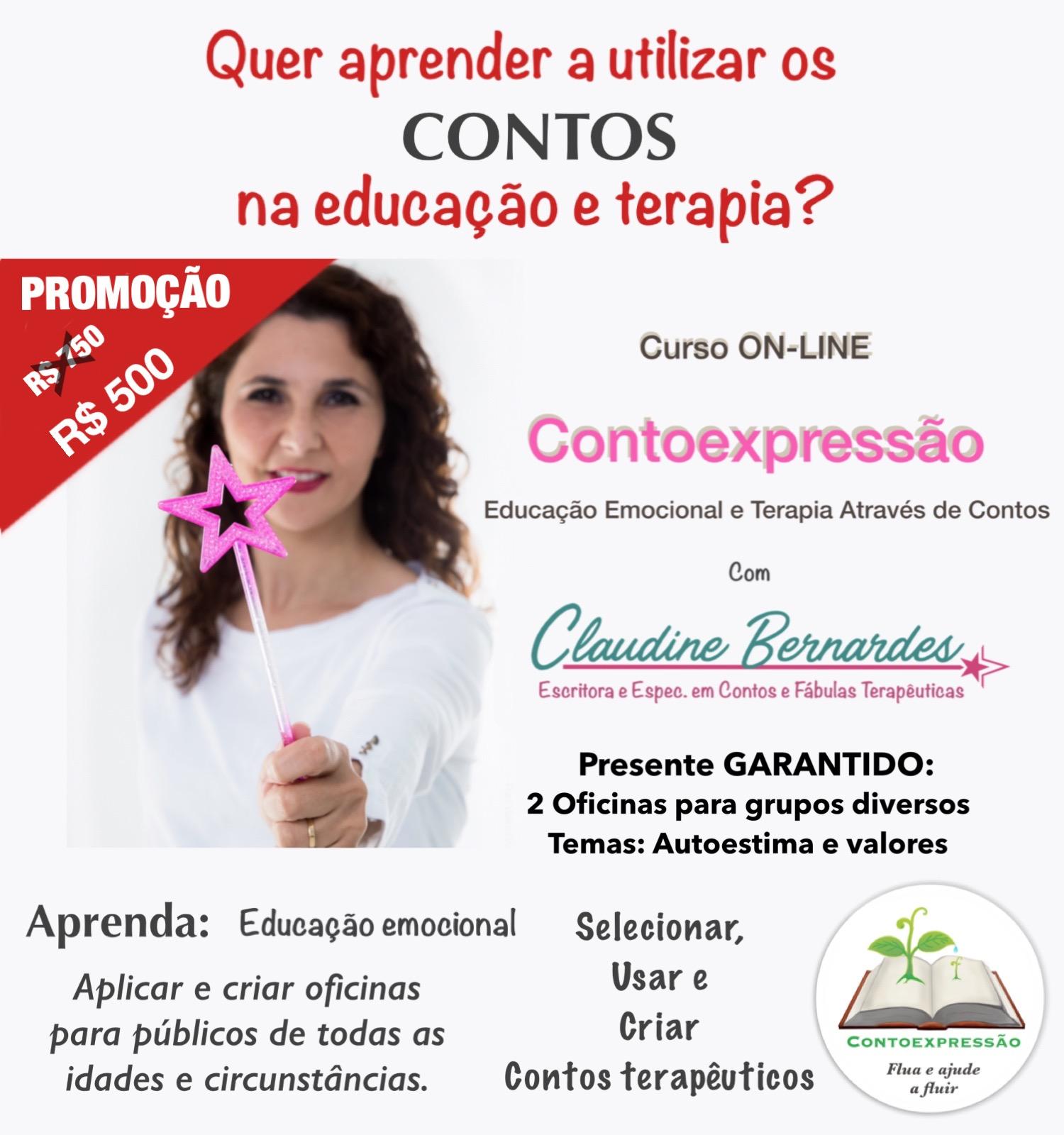 CONTOEXPRESSÃO curso Claudine Bernardes 500